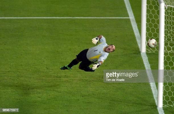 Final Germany Brazil Wc 2002 /Marcos Gardien Goal Keeper Illustration Illustratie /Allemagne Duitsland Bresil Brasil