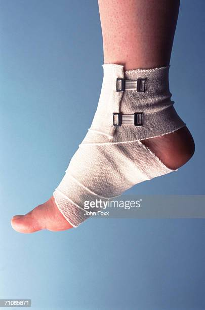 foot in bandage