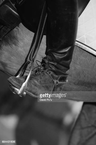Foot in Stirrup