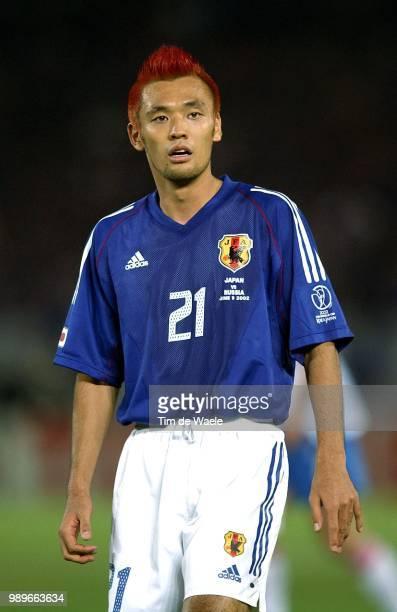 Japan Russia World Cup 2002 /Toda Kazuyuki Russie Rusland Japon Copyright Corbis