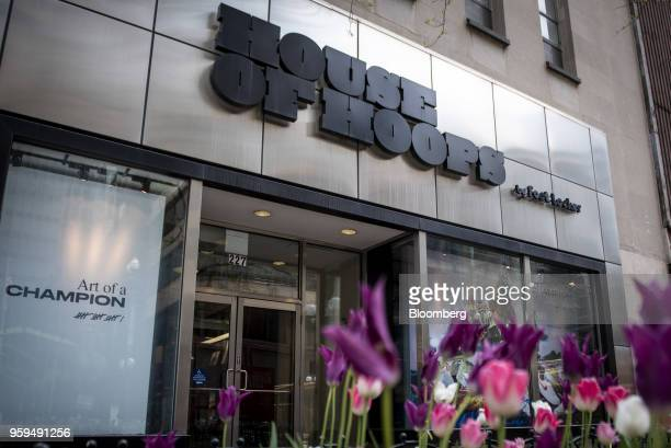 A Foot Locker Inc House Of Hoops store stands in downtown Chicago Illinois US on Sunday May 13 2018 Foot Locker Inc is scheduled to release earnings...