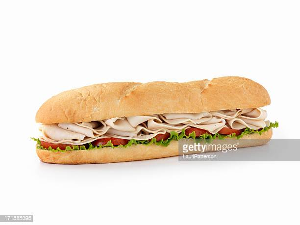 Foot long Turkey Submarine Sandwich