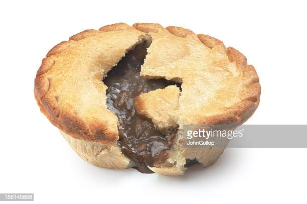 pie - savoury food stock photos and pictures