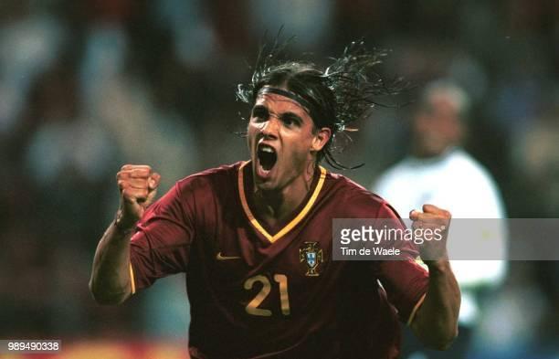 Foot Portugal Englandnuno Gomes Football Voetbal Portugalengland Angleterre Engeland Euro 2000Iso Sport Im 335594 Footballvoetbal Soccer 15054000