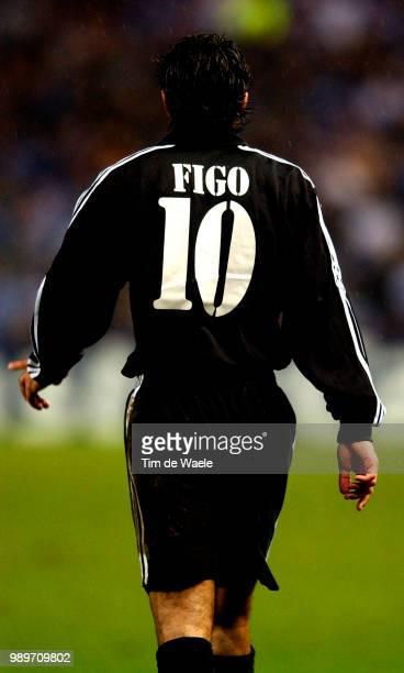 Rc Genk Real Madrid Champ League /Figo Luis Racing Champions Uefa /