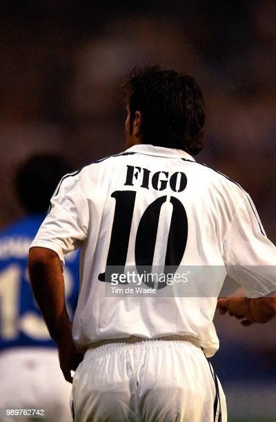 Real Madrid Rc Genk Figo Luis Champions League Racing Uefa