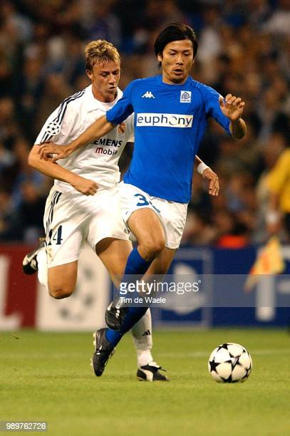 Real Madrid - Rc Genk, Guti, Suzuki Takayuki, Champions League, Racing, Uefa,