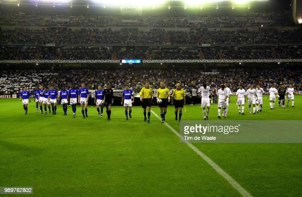 Real Madrid Rc Genk Ploeg Equipe Team Moons Jan Tomasic Igor Zokora Didier Beslija Mirsad Sonck Wesley Dagano Moumouni Skoko Josip Roumani Akran...