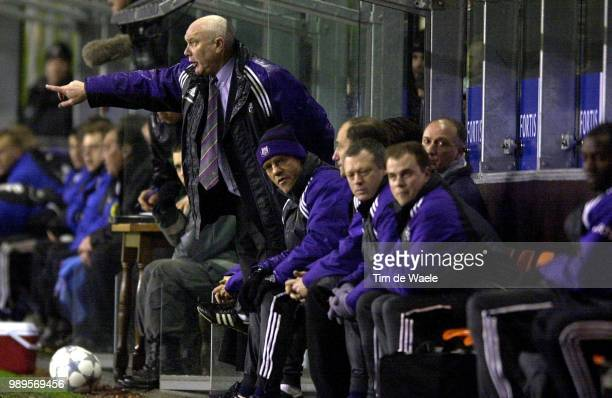 Rsc Anderlecht Cl Brugge Anthuenis Aime Munaron Jacky Bank Banc Rsca Club Bruges Royal Sporting Club