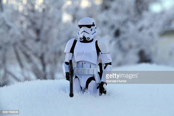 Foot Soldier in the Snow