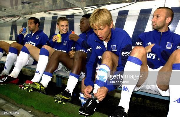 Supercup 2002, Cl Brugge - Krc Genk /Suzuki Takayuki, Delbroek Wilfried, Wamfor Justice, Van Den Bergh Kevin, Ingrao Marco, Club, Racing, Cup, Coupe,...