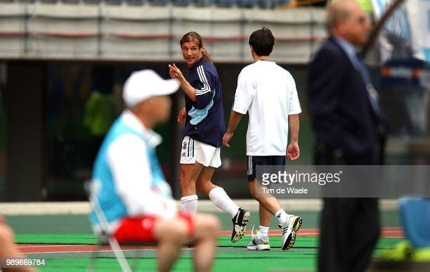 Sweden Argentina World Cup 2002 /Caniggia Claudio Expulsion Carte Rouge Red Card Rode Kaart Suede Zweden Argentine Argentinie Copyright Corbis