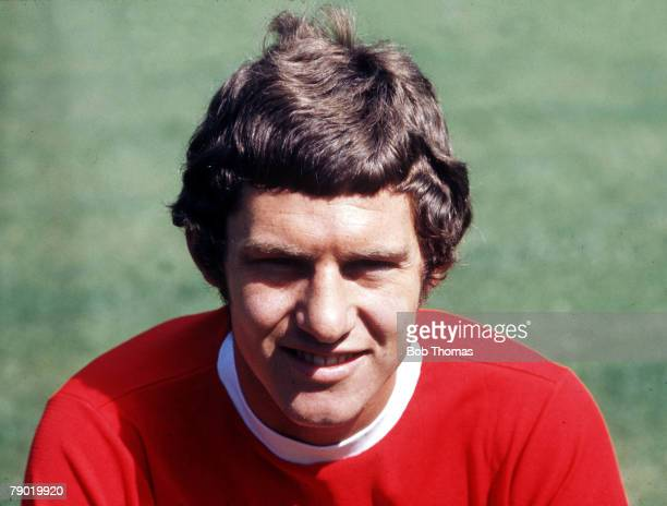 Football 1960s Portrait of Manchester Uniteds Brian Kidd