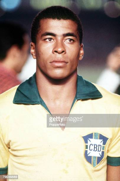 Football 1970 World Cup Finals Mexico Jairzinho one of the stars of the 1970 Brazilian World Cup winning team