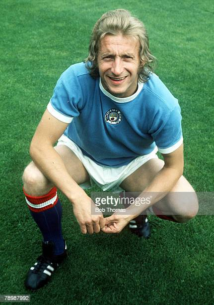 Football 1970's Manchester City's Denis Law poses for a portrait