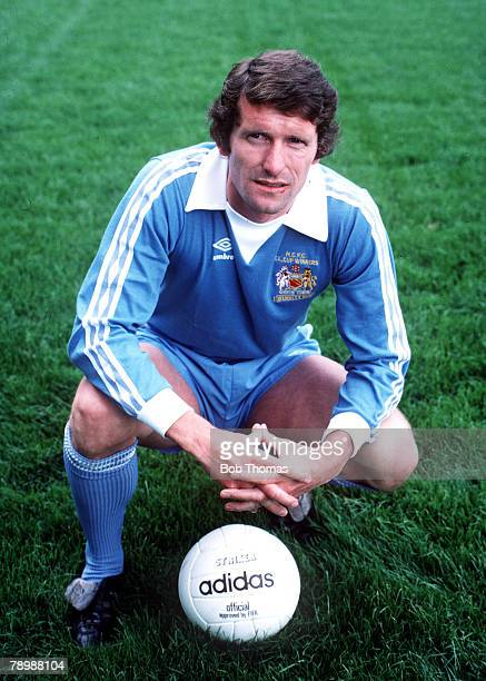 Football 1970's Manchester City's Mike Doyle during the 1977/78 season