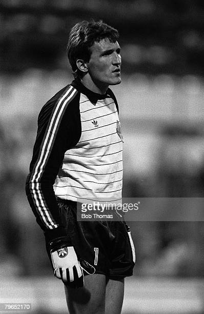 Football 1982 World Cup Finals Zaragoza Spain 17th June 1982 Northern Ireland 0 v Yugoslavia 0 Yugoslavia's goalkeeper Dragan Pantelic during the...