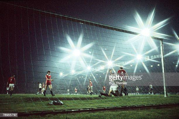 Football 1982 World Cup Qualifier Oslo Norway 9th September 1981 Norway 2 v England 1 The candlelit Ullevaal Stadium in Oslo the scene of Norway's...