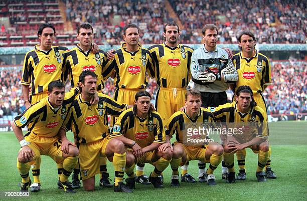 Football, 1999 UEFA Cup Winners Cup Final, Birmingham, 19th May Lazio 2 v Mallorca 1, The Lazio team pose for a team group before the match