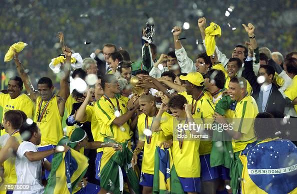 BT Football. 2002 FIFA World Cup Final. Yokohama, Japan ...
