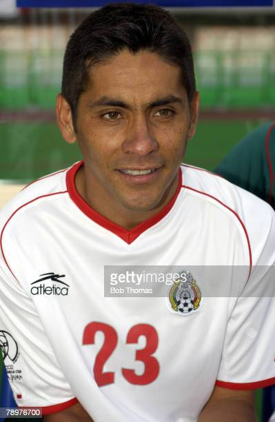 Football 2002 FIFA World Cup Finals Niigata Japan 3rd June 2002 Mexico 1 v Croatia 0 Jorge Campos Mexico