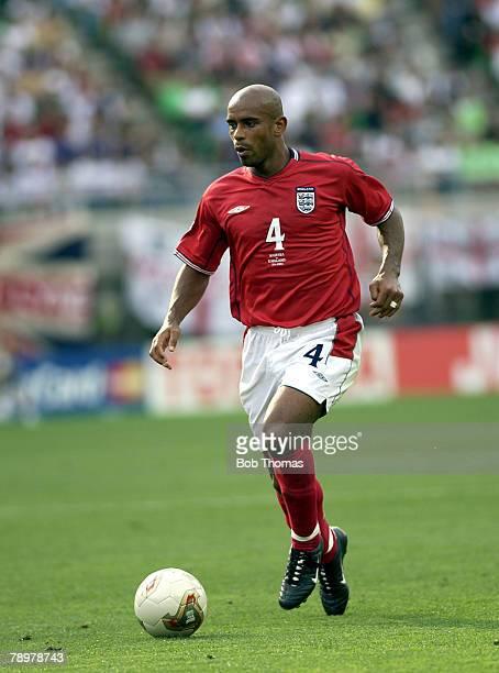 Football 2002 FIFA World Cup Finals Osaka Japan 12th June 2002 Nigeria 0 v England 0 Trevor Sinclair of England