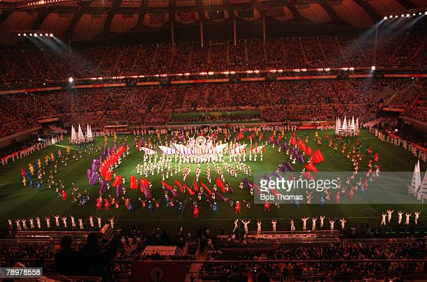 Football 2002 FIFA World Cup Finals Seoul South Korea 31st May 2002 A general view of the Opening Ceremony