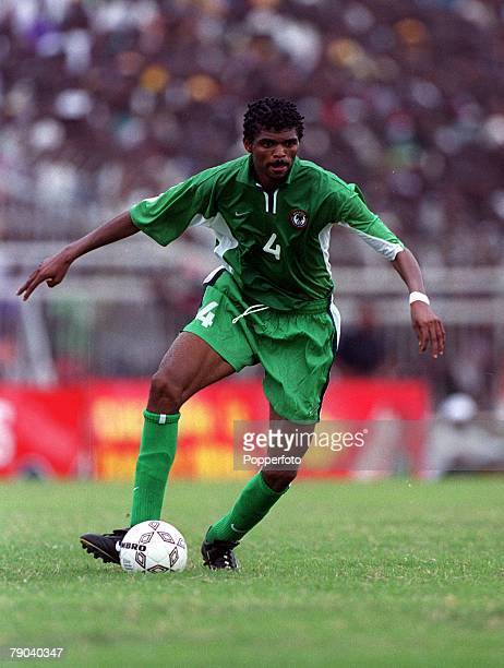 Football, 2002 World Cup Qualifier, Accra, African Second Round, Group B, 11th March 2001, Ghana 0 v Nigeria 0, Nigeria's Nwankwo Kanu