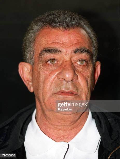 Football 2002 World Cup Qualifier African Second Round Group C Cairo 28th January 2001 Egypt 0 v Morocco 0 Portrait of Egypt coach Mahmoud El Gohary