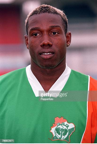 Football 2002 World Cup Qualifier African Second Round Group D 20th May 2001 Tunis Tunisia 1 v Cote d'Ivoire 1 Kader Keita of the Cote d'Ivoire