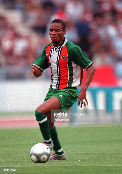 Football 2002 World Cup Qualifier African Second Round Group D 20th May 2001 Tunis Tunisia 1 v Cote d'Ivoire 1 Bonaventure Kalou of the Cote d'Ivoire