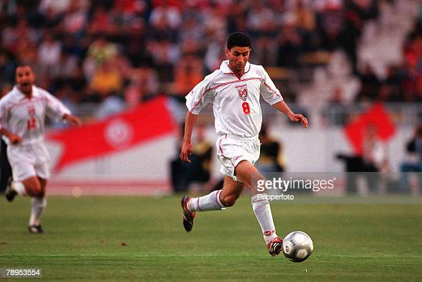 Football 2002 World Cup Qualifier African Second Round Group D 20th May 2001 Tunis Tunisia 1 v Cote d'Ivoire 1 Tunisia's Zoubeir Baya