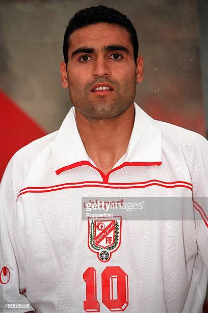 Football 2002 World Cup Qualifier African Second Round Group D 20th May 2001 Tunis Tunisia 1 v Cote d'Ivoire 1 Tunisia's Kais Ghodbane