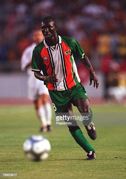 Football 2002 World Cup Qualifier African Second Round Group D 20th May 2001 Tunis Tunisia 1 v Cote d'Ivoire 1 Ibrahima Kone of the Cote d'Ivoire