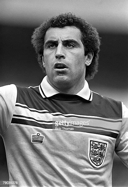 Football 29th May 1982 Home Championship Hampden Park Glasgow Scotland 0 v England 1 Englands goalkeeper Peter Shilton