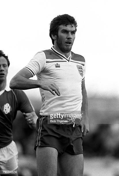 Football 2nd June 1982 Friendly International Iceland 1 v England B 1 Englands Peter Withe
