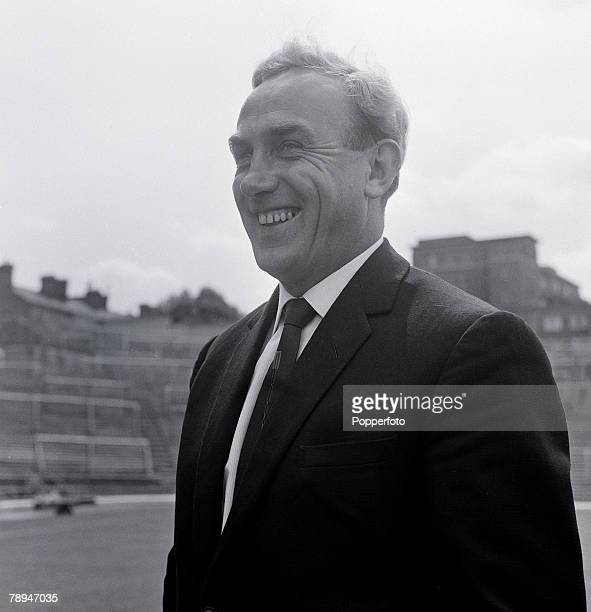 Football 4th August 1962 Portrait of Arsenal manager Billy Wright