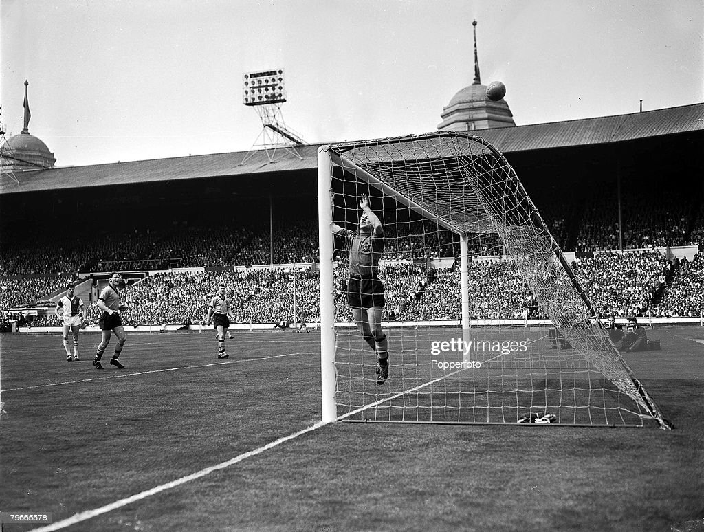 Football, 7th May 1960, Wembley Stadium, London, FA Cup Final