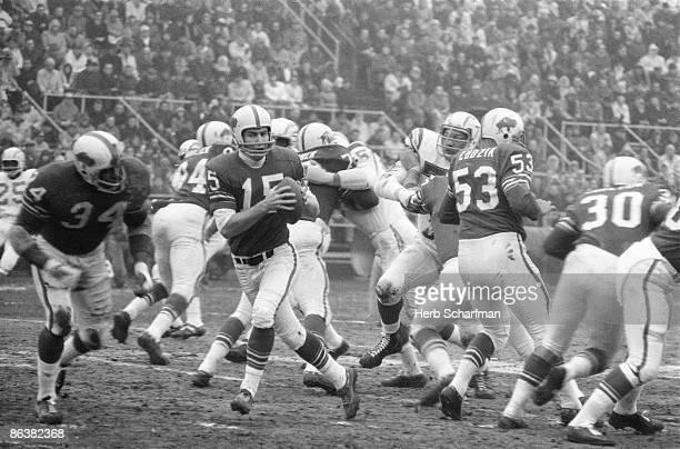 AFL Championship Buffalo Bills QB Jack Kemp in action vs San Diego Chargers Buffalo NY CREDIT Herb Scharfman