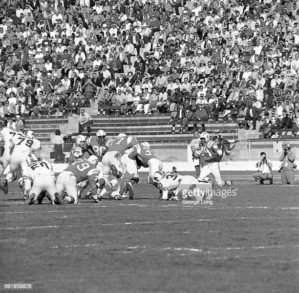 AFL Championship San Diego Chargers Ernie Ladd in action defense vs Buffalo Bills at Balboa Stadium San Diego CA CREDIT George Long