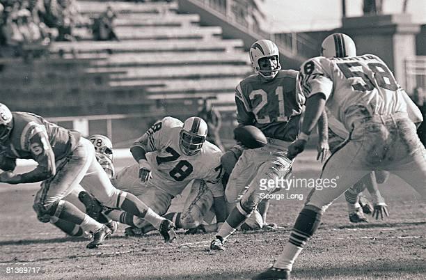 Football AFL Championship San Diego Chargers QB John Hadl in action vs Buffalo Bills San Diego CA