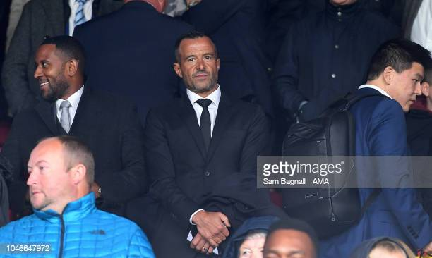Football agent Jorge Mendes of GestiFute company attends the game during the Premier League match between Crystal Palace and Wolverhampton Wanderers...