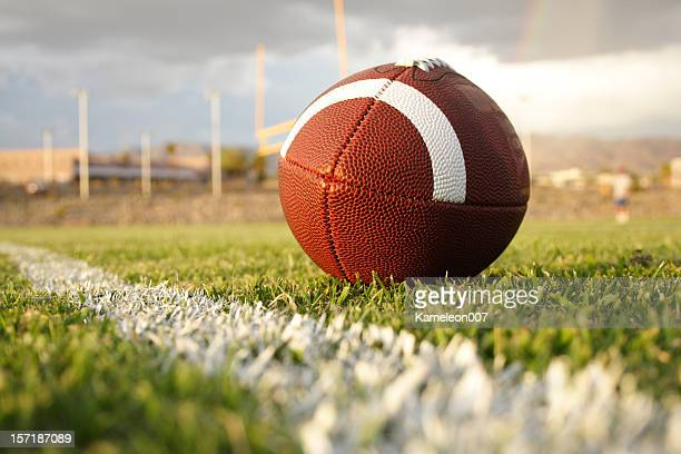 football and field goal - american football strip stock pictures, royalty-free photos & images