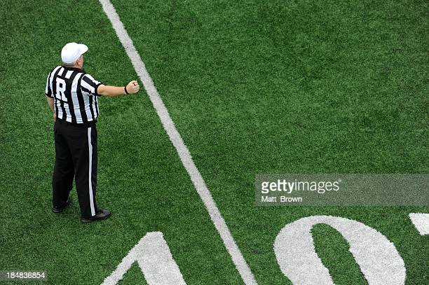 football and referee - american football referee stock pictures, royalty-free photos & images