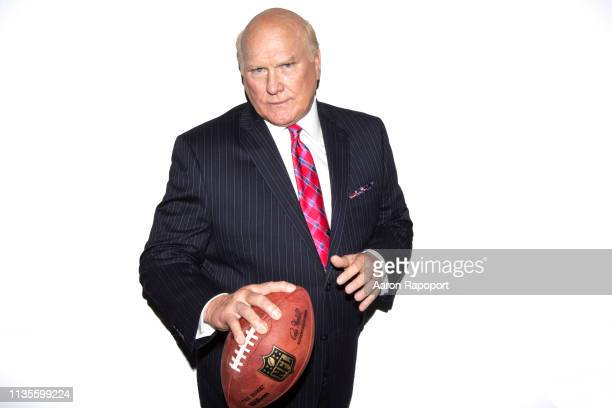 Football and television star announcer Terry Bradshaw poses for a portrait in October 2018 in Los Angeles California
