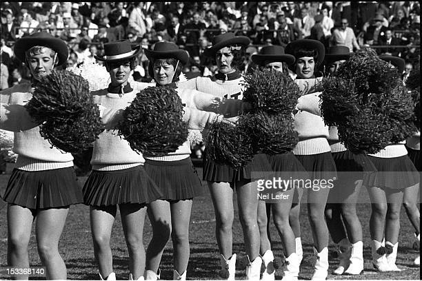 Baltimore Colts cheerleaders before game vs San Francisco 49ers at Memorial Stadium Baltimore MD CREDIT Neil Leifer