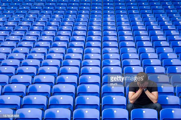 football blues - defeat stock photos and pictures