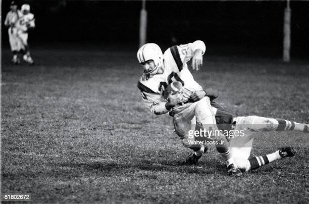 Boston Patriots Gino Cappelletti in action vs Buffalo Bills Boston MA 11/3/1962