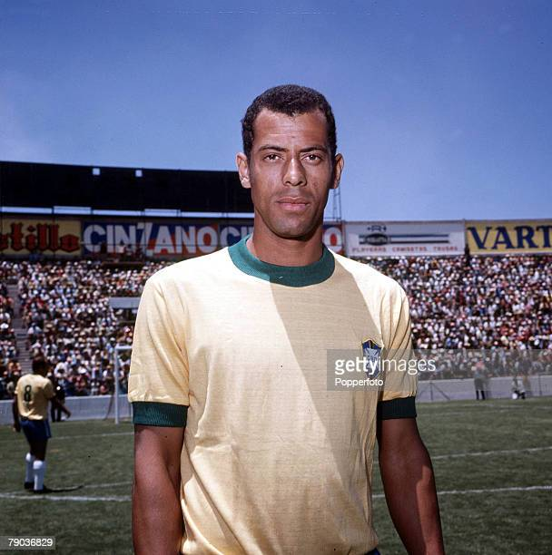 Football Brazil's Carlos Alberto captain of the victorious 1970 World Cup winning team in Mexico