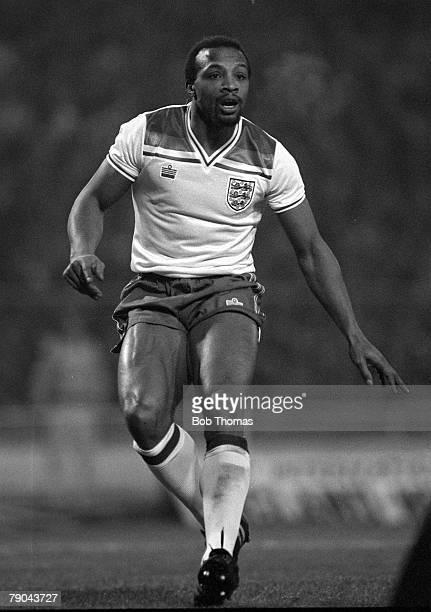 Football British Championship International Wembley 23rd February 1982 England 4 v Northern Ireland 0 England's Cyrille Regis